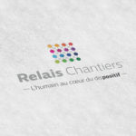 Relais Chantiers - logo charte graphique - Les Créatonautes - agence de communication strasbourg alsace